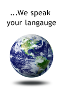 In a Global World, We speak your langauge.